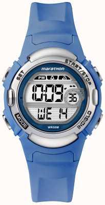 Timex Marathon deportes digitales reloj correa azul claro TW5M14400