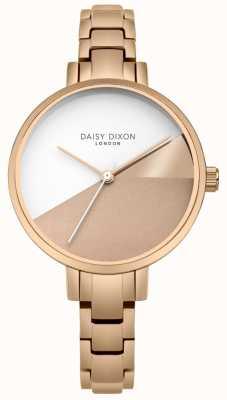 Daisy Dixon Damas ava oro rosa tres tonos pulsera de oro rosa DD065RGM
