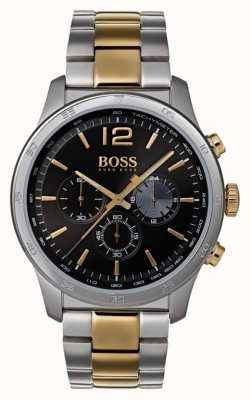 Hugo Boss Reloj cronógrafo profesional para hombres pulsera de dos tonos 1513529