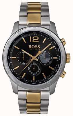 Boss Cronógrafo profesional para hombre reloj pulsera en dos tonos. 1513529