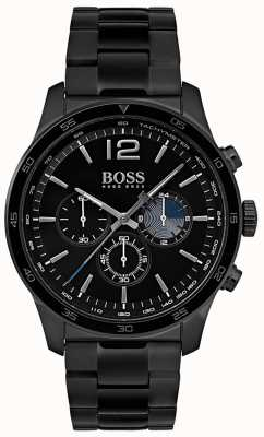 Hugo Boss Pulsera plateada hierro del reloj del cronógrafo profesional para hombre 1513528