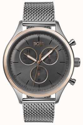 Boss Reloj de cronógrafo compañero de hombre gris 1513549