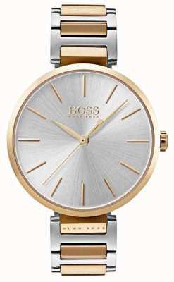 Hugo Boss Reloj de alusión para mujer con dos tonos de acero 1502417