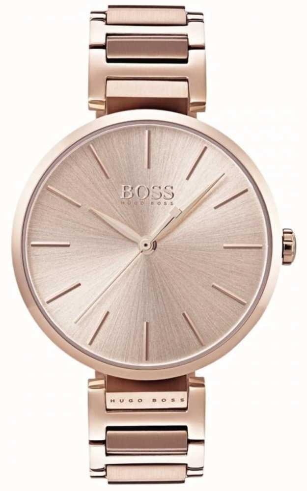 e8951484bb30 Hugo Boss Reloj De Alusión Para Mujer En Tono Dorado Rosa 1502418 ...