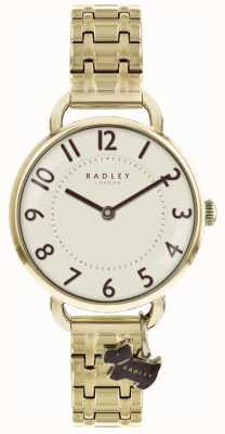 Radley Pulsera de reloj dorado de Southwark Park para mujer RY4298