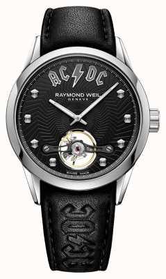 Raymond Weil Freelancer acdc edición limitada esfera negra 2780-STC-ACDC1