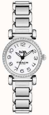 Coach Reloj para mujer madison pulsera acero esfera blanca 14502851