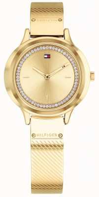 Tommy Hilfiger Reloj olivia dorado para mujer 1781910