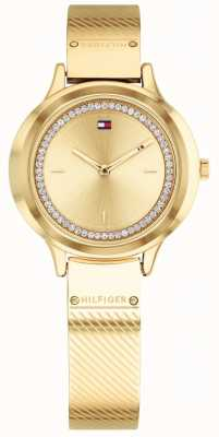 Tommy Hilfiger Reloj de mujer goldtone olivia 1781910