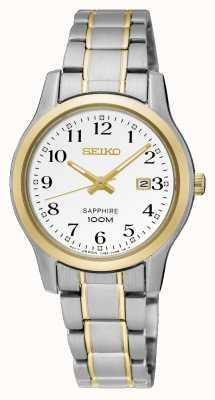 Seiko Reloj de dos tonos para mujer SXDG90P1