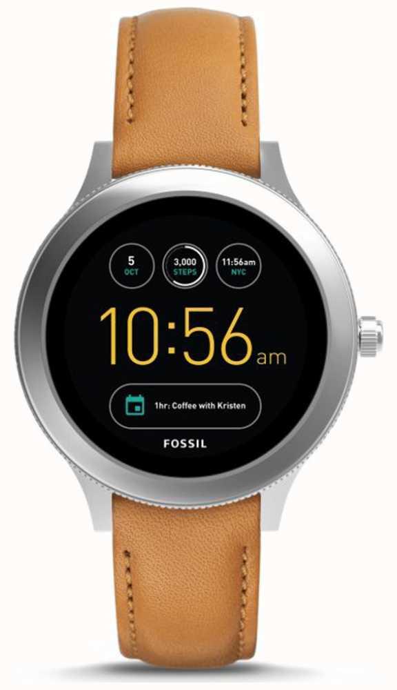 ac6813fc4017 Fossil Unisex Q-venture Generation 3 Smart Watch Tan Leather FTW6007 ...