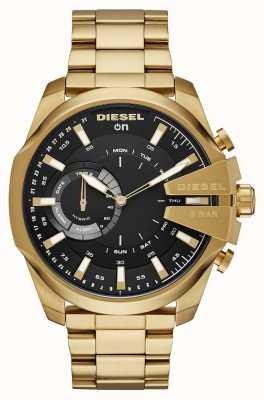 Diesel Pulsera para hombre de reloj de oro híbrido smartchatch megachief DZT1013