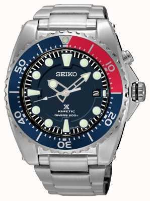 Seiko Exhibición de la fecha de los buceadores de Prospex cinético 200m SKA759P1