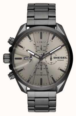 Diesel Correa de acero inoxidable para hombre ms9 chrono DZ4484