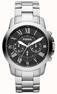 Fossil Correa de acero inoxidable para hombre FS4736IE