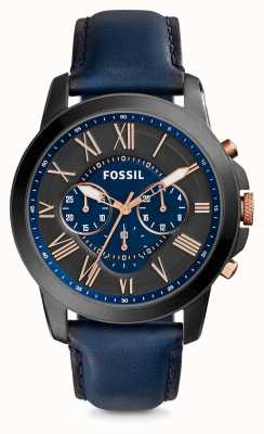Fossil Correa de cuero para hombre FS5061