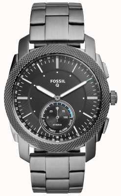 Fossil Correa de acero inoxidable para máquina q de unisex FTW1166