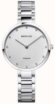 Bering Caja de titanio y pulsera de titanio 11334-770