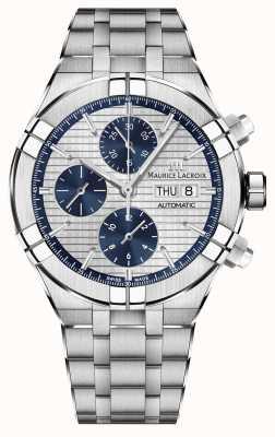 Maurice Lacroix Reloj automático de fabricación de cronógrafo Aikon AI6038-SS002-131-1