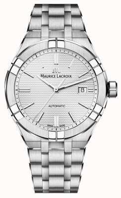 Maurice Lacroix Reloj automático Aikon de acero inoxidable AI6008-SS002-130-1
