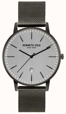 Kenneth Cole Reloj de malla de acero inoxidable clásico KC50009003