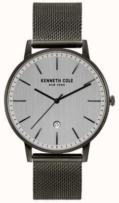 Kenneth Cole Reloj clásico de malla de acero inoxidable KC50009003