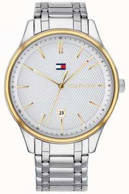 Tommy Hilfiger Reloj de hombre de acero inoxidable damon 1791491