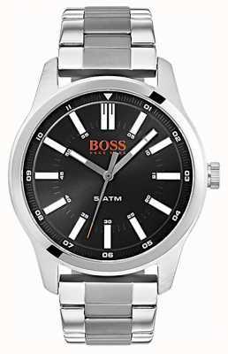 Hugo Boss Orange Reloj de pulsera de acero inoxidable para hombre dublín negro 1550069