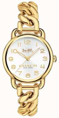 Coach Reloj de mujer chapado en oro delancey 14502801