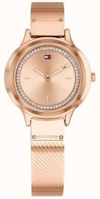 Tommy Hilfiger Reloj mujer plateado oro rosa olivia 1781911