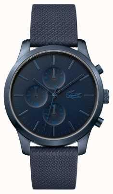 Lacoste Mens 12.12 85 aniversario reloj azul oscuro 2010948