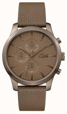Lacoste Mens 12.12 85 aniversario de reloj de color caqui 2010949