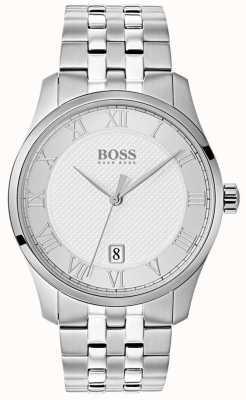 Hugo Boss Reloj de plata de acero inoxidable para hombre. 1513589
