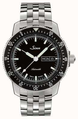 Sinn 104 st sa i clásico reloj piloto brazalete de acero inoxidable 104.010 BRACELET