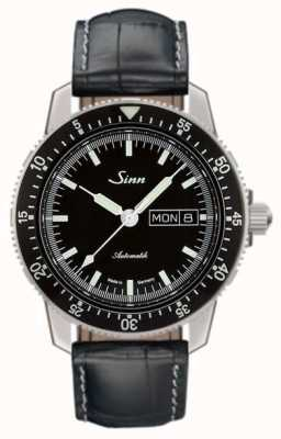 Sinn 104 st sa i classic pilot watch piel de cocodrilo en relieve 104.010-BL44201851001225301A