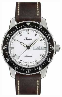 Sinn 104 st sa iw classic pilot reloj cuero vintage marrón 104.012-BL50202002007125401A