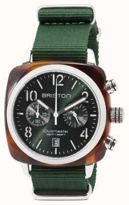 Briston Clubmaster sport icons correa verde 17142.SA.TS.10.NBG