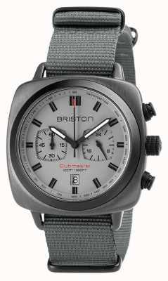 Briston Clubmaster sport correa de nato gris 18142.SPG.SP.12.NG