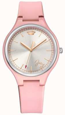 Juicy Couture Reloj soñador para mujer de día rosa 1901641