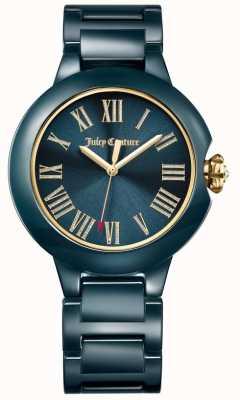 Juicy Couture Reloj de mujer burbank negro de cerámica 1901653