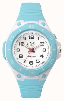Limit Reloj análogo azul cian para mujer 5698.71