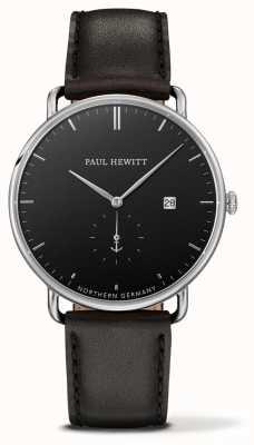 Paul Hewitt Gran cuarzo de cuero negro atlántico PH-TGA-S-B-2M