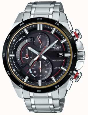Casio Reloj para hombre con cronógrafo solar 3D EQS-600DB-1A4UEF