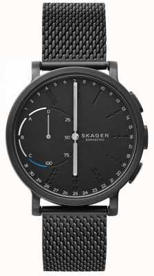 Skagen Hagen conectado reloj inteligente pulsera de malla negra esfera negra SKT1109