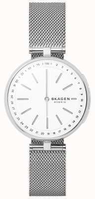Skagen Signatur conectado reloj inteligente malla de acero inoxidable SKT1400