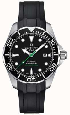 Certina Mens certina ds action diver powermatic 80 reloj automático C0324071705100