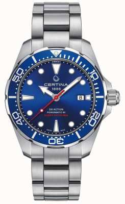 Certina Mens certina ds action diver powermatic 80 reloj automático C0324071104100