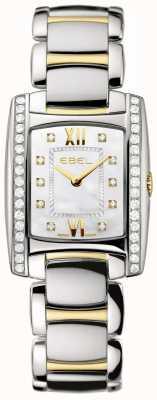 EBEL Conjunto de dos diamantes de oro amarillo de 18 quilates para mujer 1215769