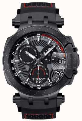 Tissot T-race motogp edición especial correa de caucho negro T1154173706104
