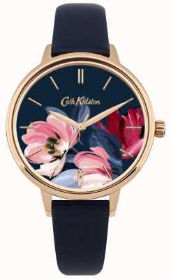 Cath Kidston Reloj de pulsera de mujer con esfera floral CKL050URG
